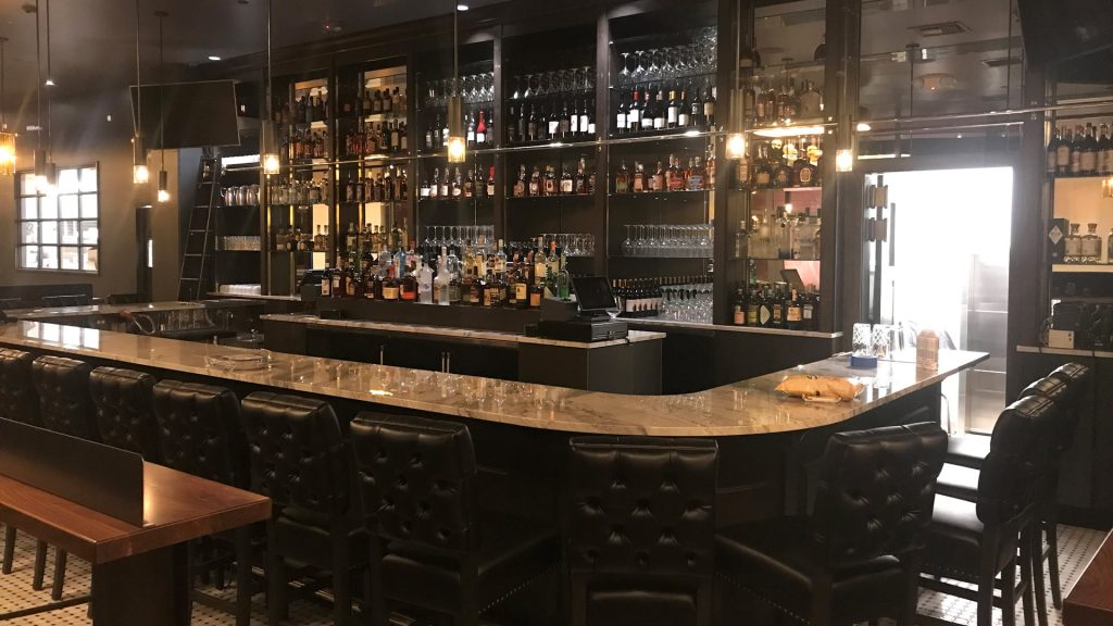 Millwork for Central Bar