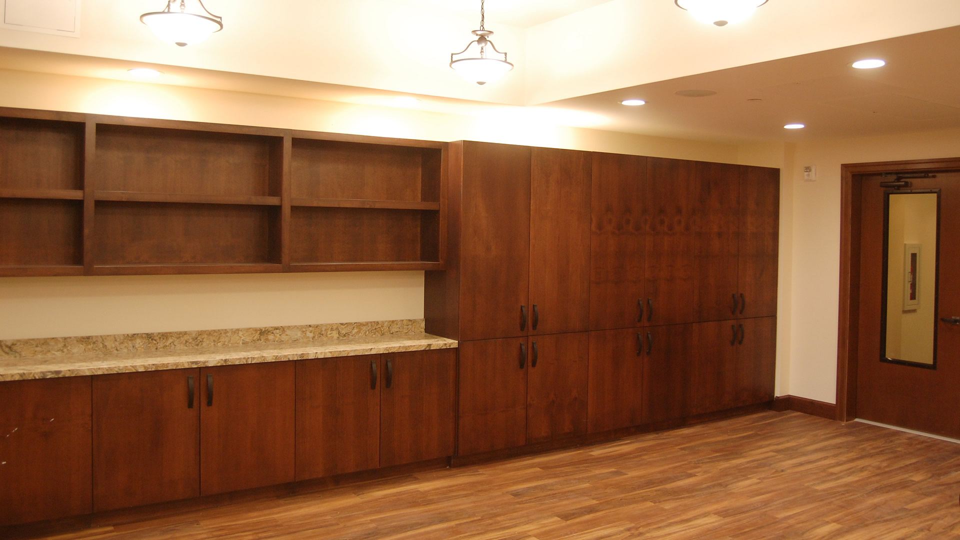 Casework for cabinets